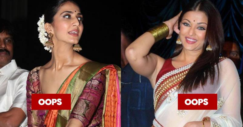 Here are 8 Bollywood actresses who wore the worst saris and dupattas at events