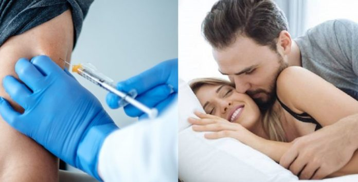 Can you make a relationship with my wife after I get vaccinated by Karona? Know expert's answer